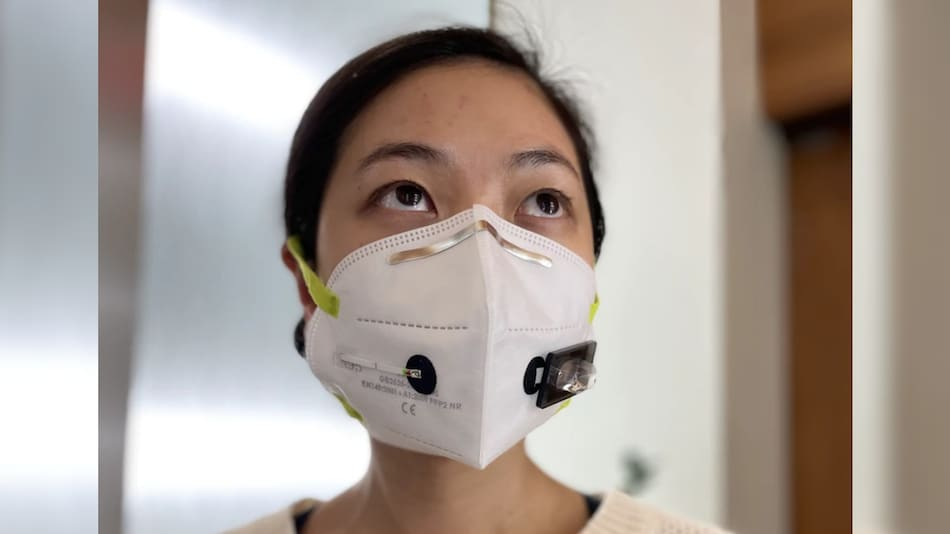 Face Mask Tech Uses Biosensors to Detect COVID-19